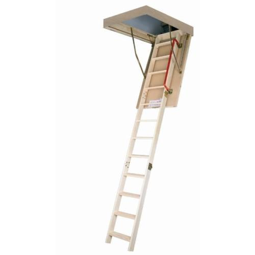 "FAKRO LWT-66894 Wooden Folding Highly Insulated Attic Ladder 25""x54"""