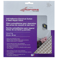 PATCH REPAIR ELEC OUTLET 7X7IN