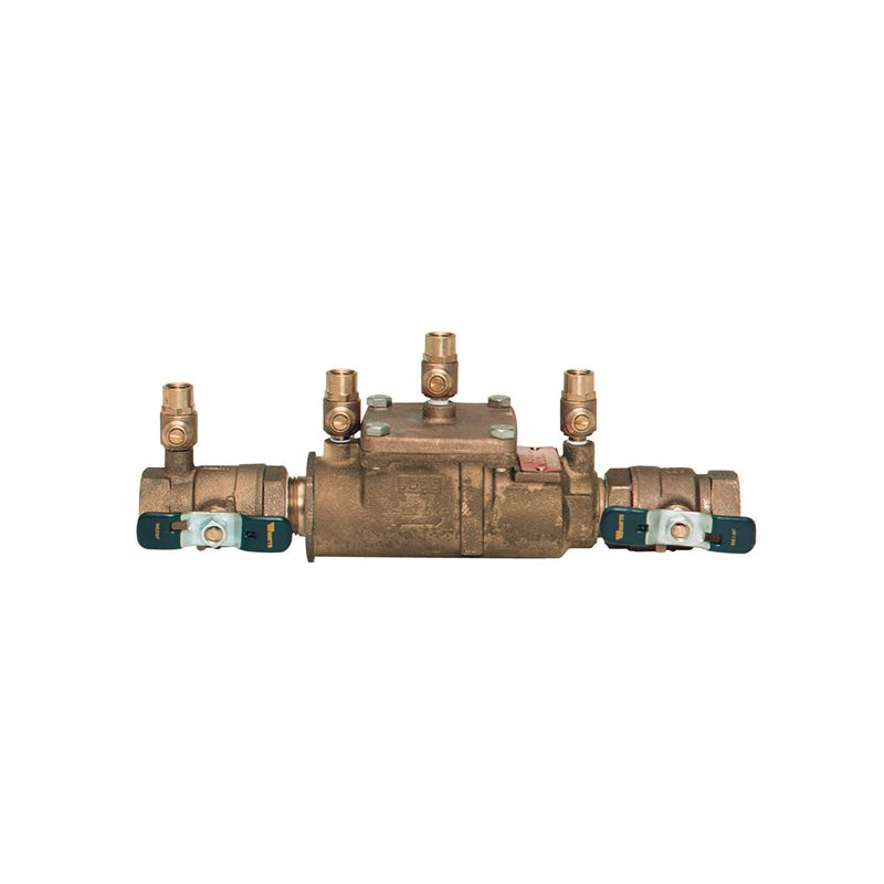 WATTS BACKFLOW PREVENT SYSTEM, 3/4 IN. FIP, LEAD FREE