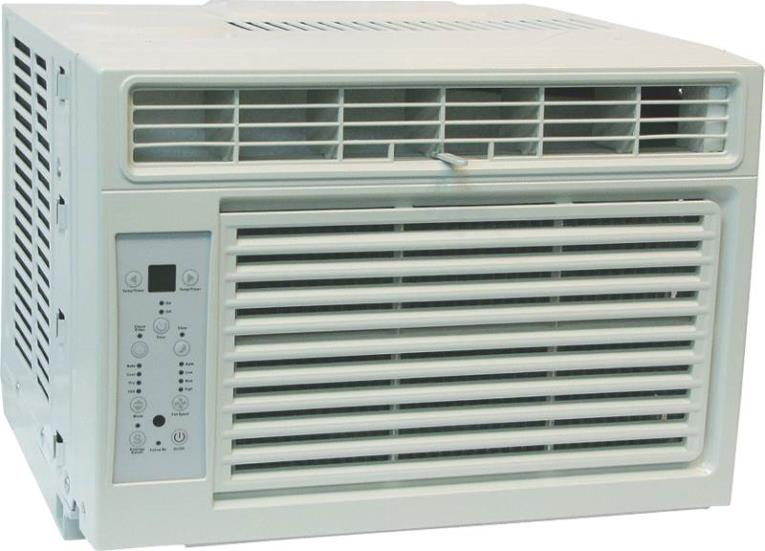 (Open Box) Comfort-Aire RADS-81M 4-Way Room Air Conditioner With Remote, 8000 BTUH, 214 cfm, 300 - 350 sq-ft, 1.90 pt/hr
